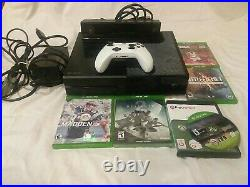 Microsoft Xbox One 500GB Black Console with 5 games Controller & Kinect Sensor