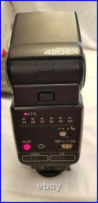 Mint Canon EOS 90D Low Shutter Count & Sigma 17-70 f/2.8-4.0 +Canon 420EX Flash+