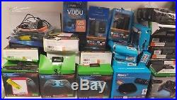 Mix LOT of 52 mixed electronics Roku Xbox one controllers VUDU NOT TESTED