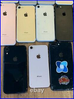 Mixed lot of 50x iPhones (6/6s/6+/6s+/+, 7/7+, & 8/8+) AS IS FOR PARTS