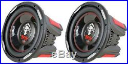 NEW (2) 15 DVC 2500w Subwoofer Bass Speakers. Woofer. Car Audio Sub. Dual Voice