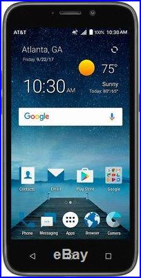 NEW AT&T Zte Maven 3 Prepaid Cell Phone Smartphone Go Phone 8gb (LOT OF 5)