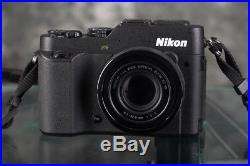 Nikon COOLPIX P7800 12.2MP Digital Camera kit with accessories and Lowe Pro bag