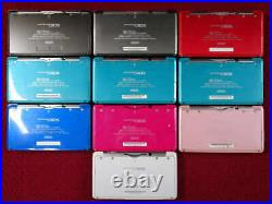 Nintendo 3DS Console Junk for Parts or Repairs As Is Lot of 10 Japan Import