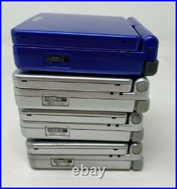 Nintendo Game Boy Advance SP Lot of 4 Handheld Systems Not Working Read