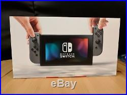 Nintendo Switch 32GB Gray Console and Special Edition Zelda Breath of the Wild