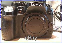 Panasonic LUMIX GH4 with 12-35mm Lens and Two Batteries
