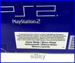 Playstation 2 Limited Automobile Light Yellow, Silver, Snow White