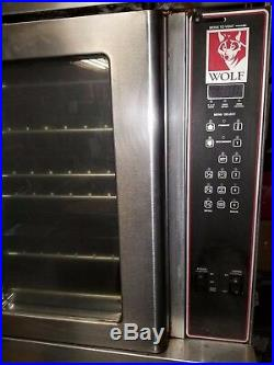 Restaurant equipment Wolf double stack oven Electronic Model # WKEC-7