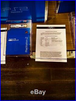 Sony PlayStation 2 Dreamcast vga graded collection certified RARE