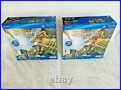 Sony Playstation 3 PS3 Uncharted 3 Game Of The Year Edition 250GB 4 Units, NEW