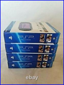 Sony Playstation Portable PSP 3000 4 Units FACTORY SEALED in FACTORY BOX RARE
