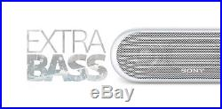 Sony XB20 Portable Wireless Bluetooth Speaker White 4-Pack for Party Chain