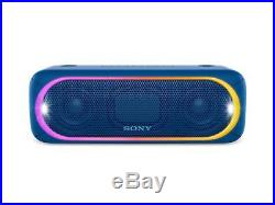 Sony XB30 Portable Wireless Bluetooth Speaker, Blue 2-Pack for Party Chain