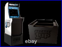 Star Wars Arcade 1up Home Cabinet Arcade Lighted Marquee Chair Bench WITH RISER