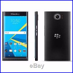 T-mobile Blackberry Priv 32gb Black Locked Smartphone No Box For Parts Only