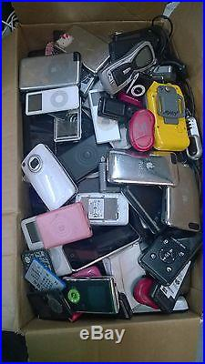 UNTESTED BROKEN LOT OF 155 MP3 PLAYERS MEDIA DEVICES PARTS AS-IS US