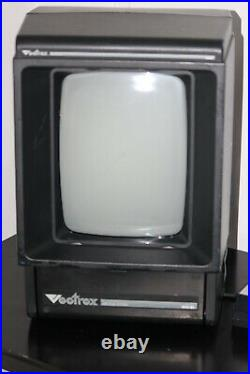 Vectrex Arcade + 2 Games Bright Video-No Sound-Contlr with issue (Please READ)