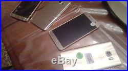 Wholesale LOT of 5 Samsung Galaxy Note 5 Platinum Phones Non-working as is