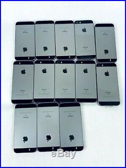 Wholesale Lot of 13 Apple iPhone SE 16GB Space Gray AT&T A1662 See Description