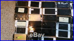 Wholesale Lot of 50 Apple iPhones misc models As Is