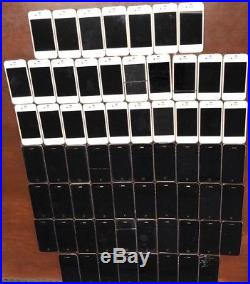 Wholesale Lot of 67 Apple iPhone 4/4s For Parts and/or Repair UNTESTED UNITS