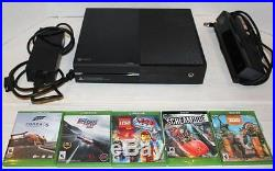 XBOX One Black Console 500GB + 5 games + Kinect Bundle